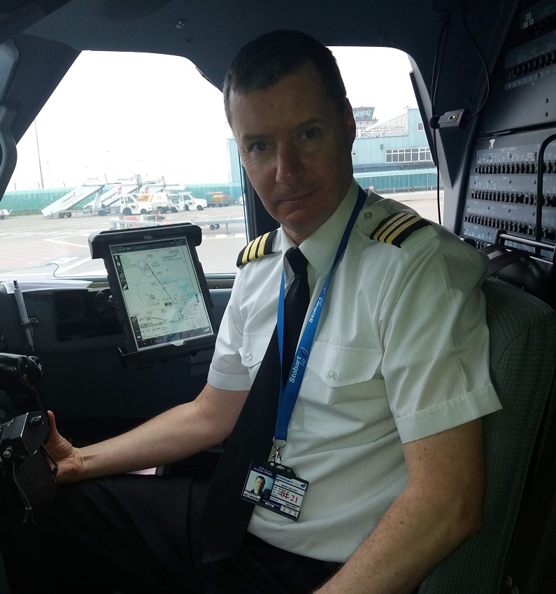 TPN Ireland helps driver achieve his dream of becoming a commercial airline pilot