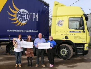 Pallet Network Anglia supports people and animals with TPN charity funds